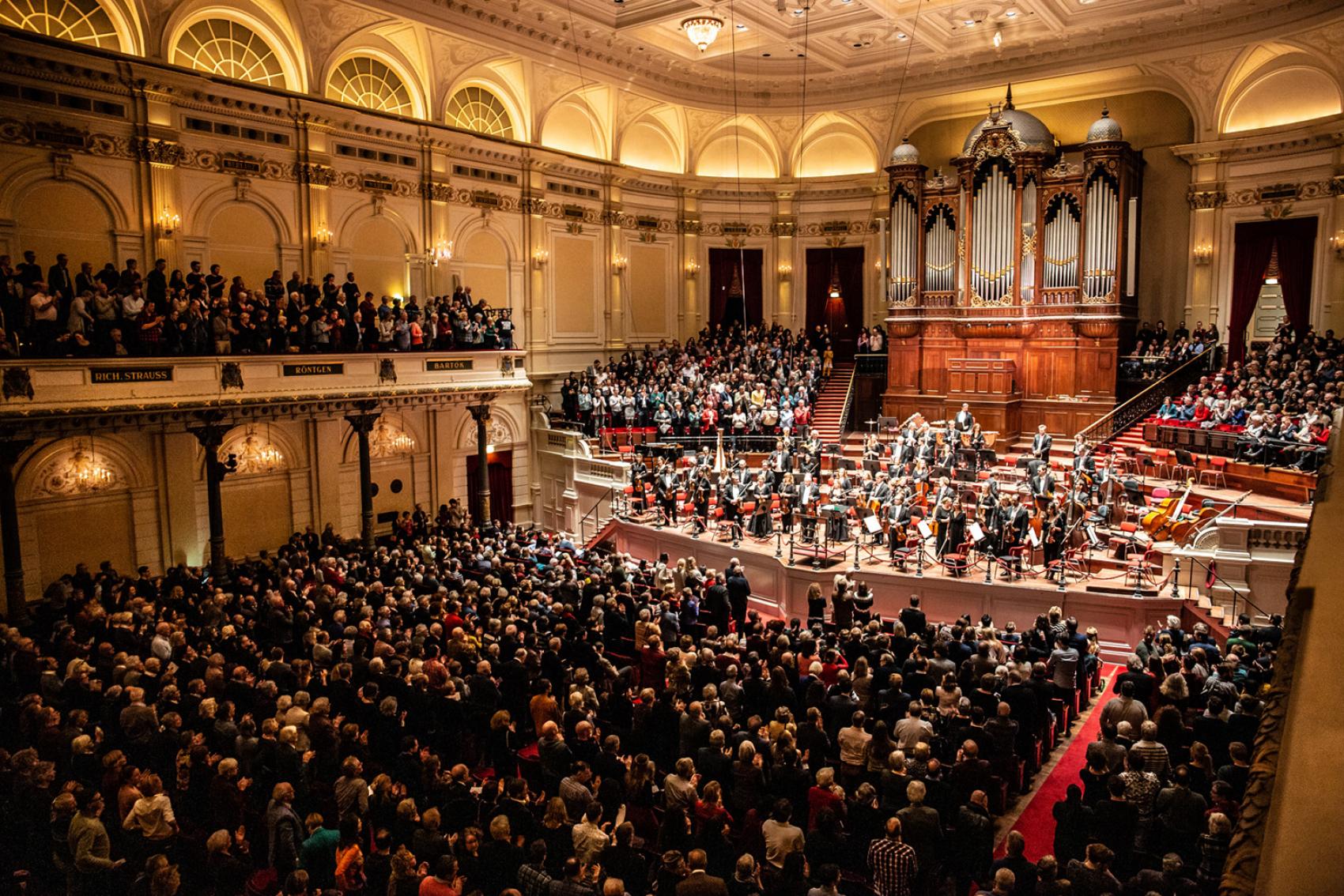 Afwikkeling kaarten Het Concertgebouw