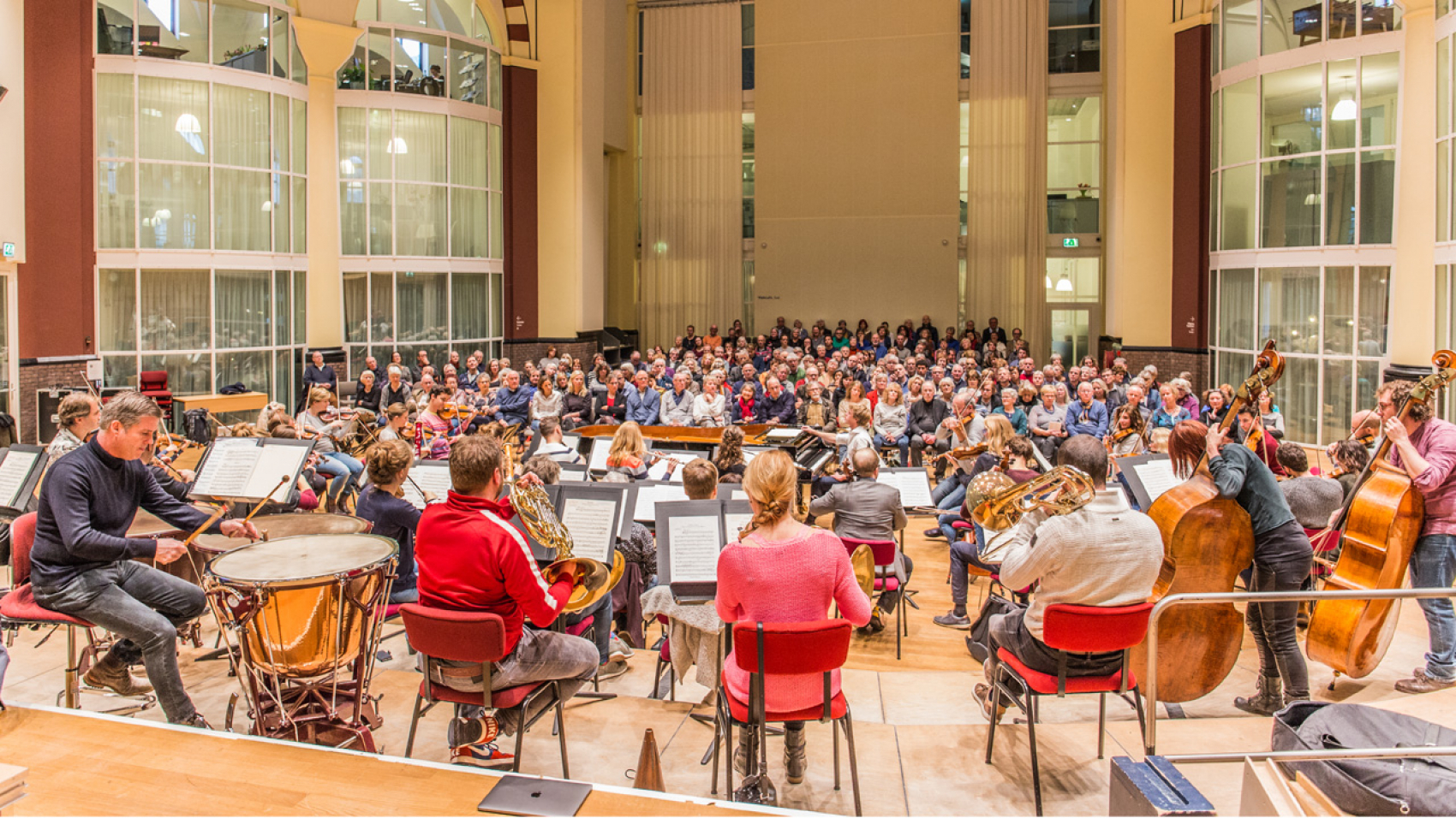Open rehearsal Clyne, Walton, Elgar