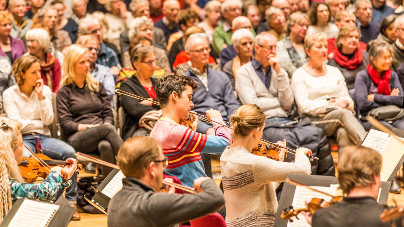 Open rehearsal R. Strauss, Shostakovich, Beethoven