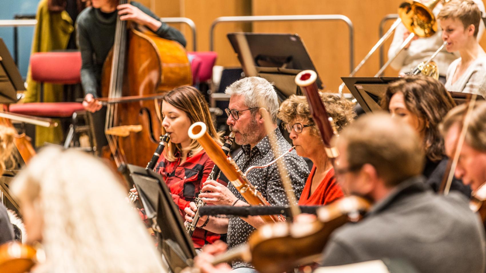 Openbare repetitie Svendsen, Grieg, Sibelius