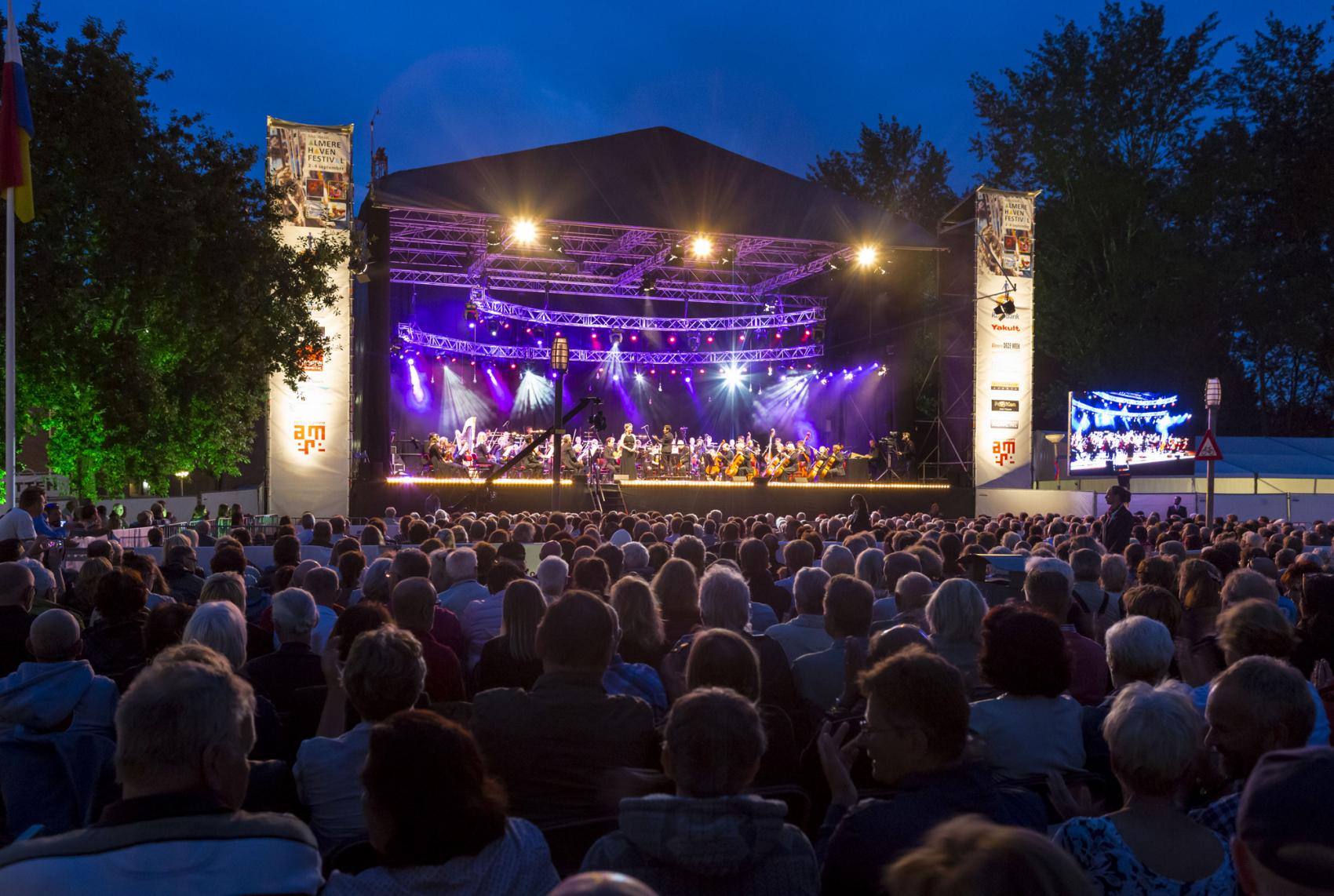 Mozart centraal tijdens Havenkom Concert in Almere