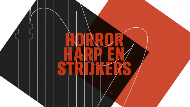 Horror, harp and strings