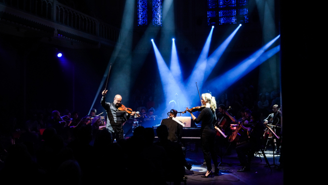 Horror, harp and strings in Paradiso