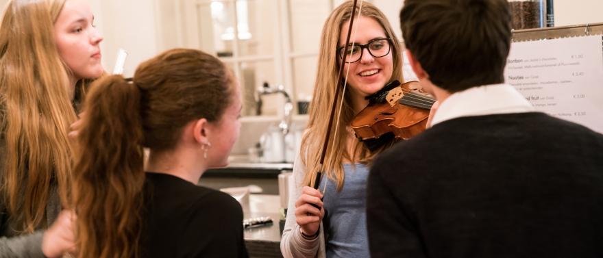 Componeren in Het Concertgebouw