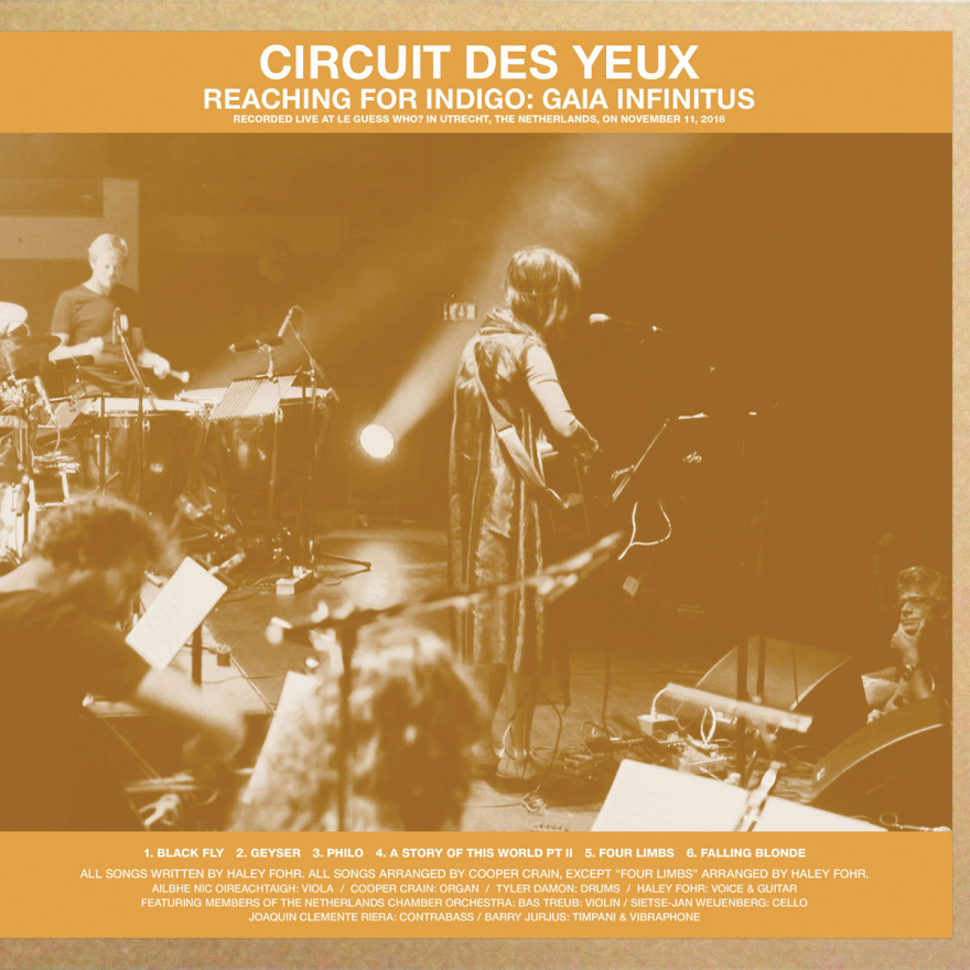 Circuit des Yeux releases new live album, recorded at Le Guess Who? 2018