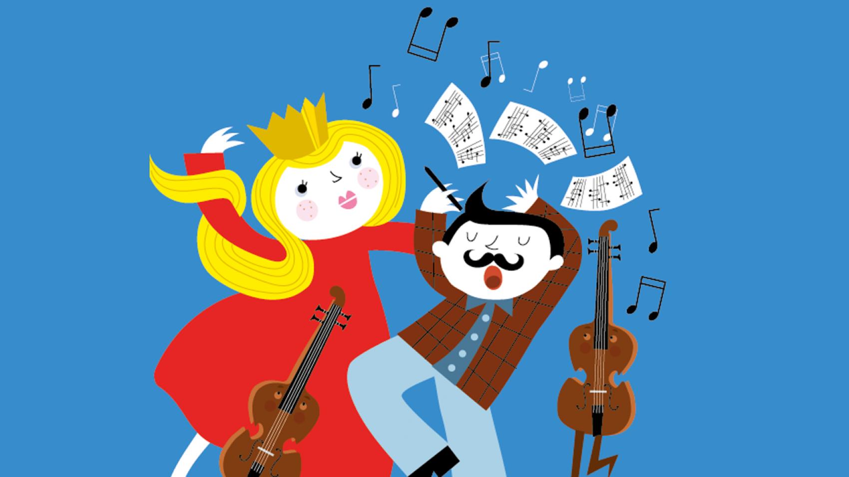 De componist en de koningin (6+)