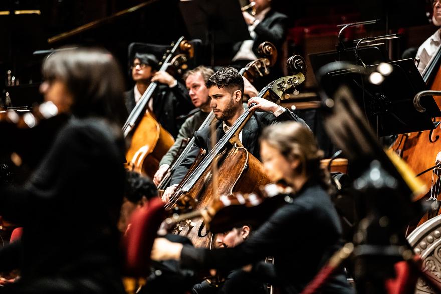 Calliope Tsoupaki schrijft stuk voor bassisten van Nederlands Philharmonisch Orkest en solist Božo Paradžik