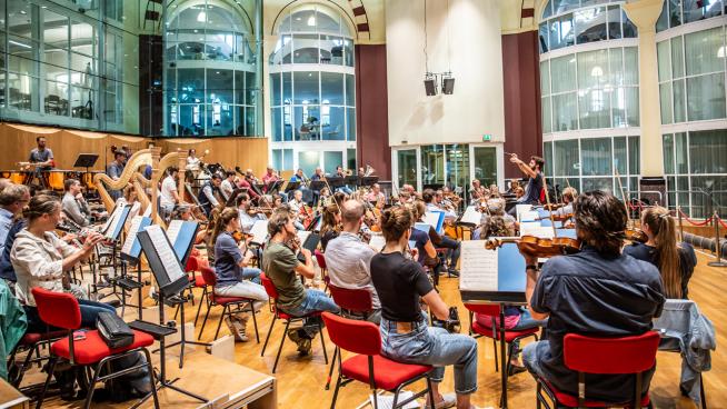 Openbare repetitie Brahms en R. Strauss