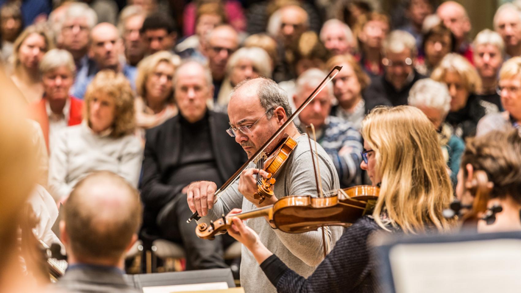 Openbare repetitie Chopin en Bizet
