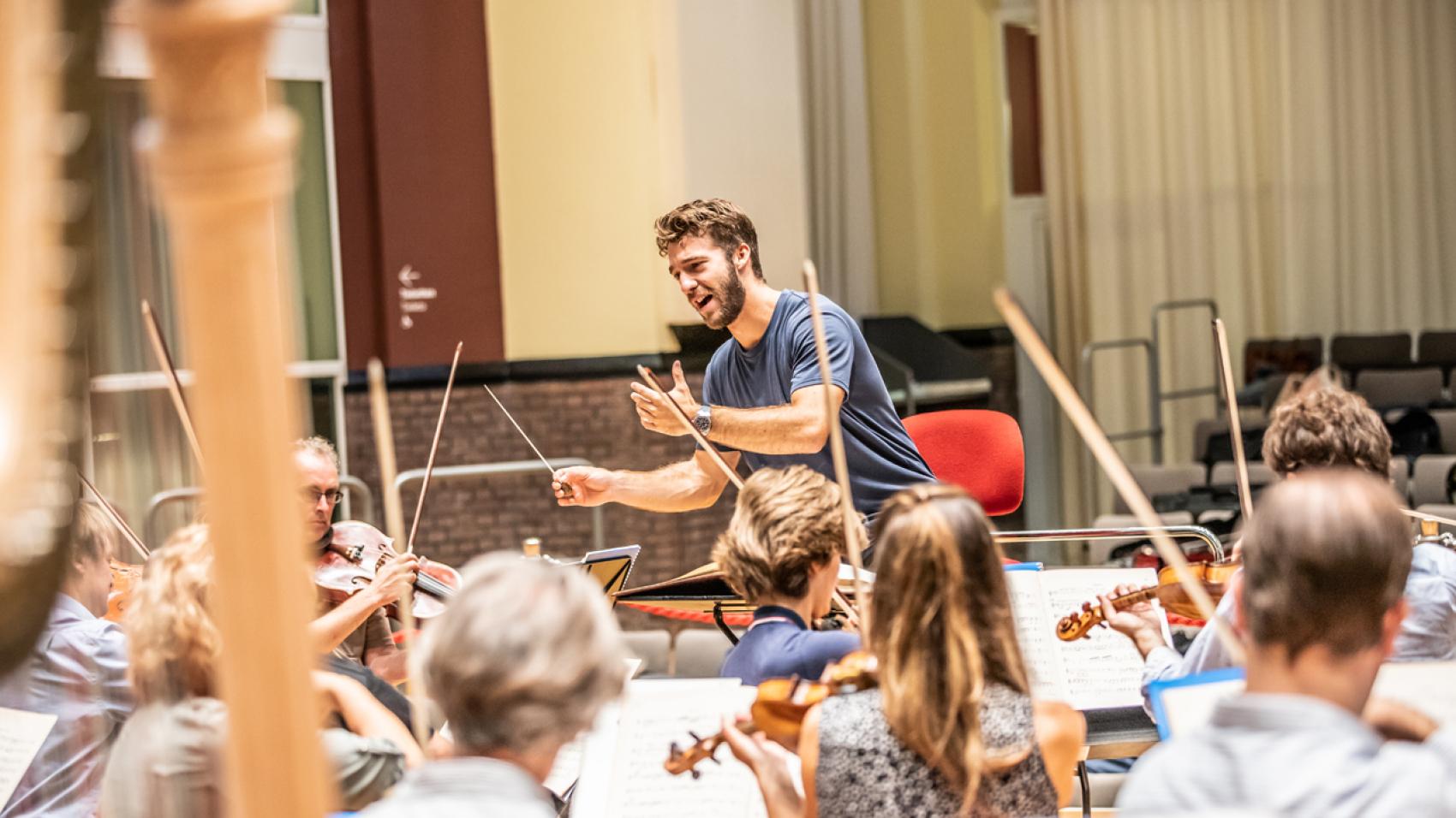 Openbare repetitie Schubert en Mahler