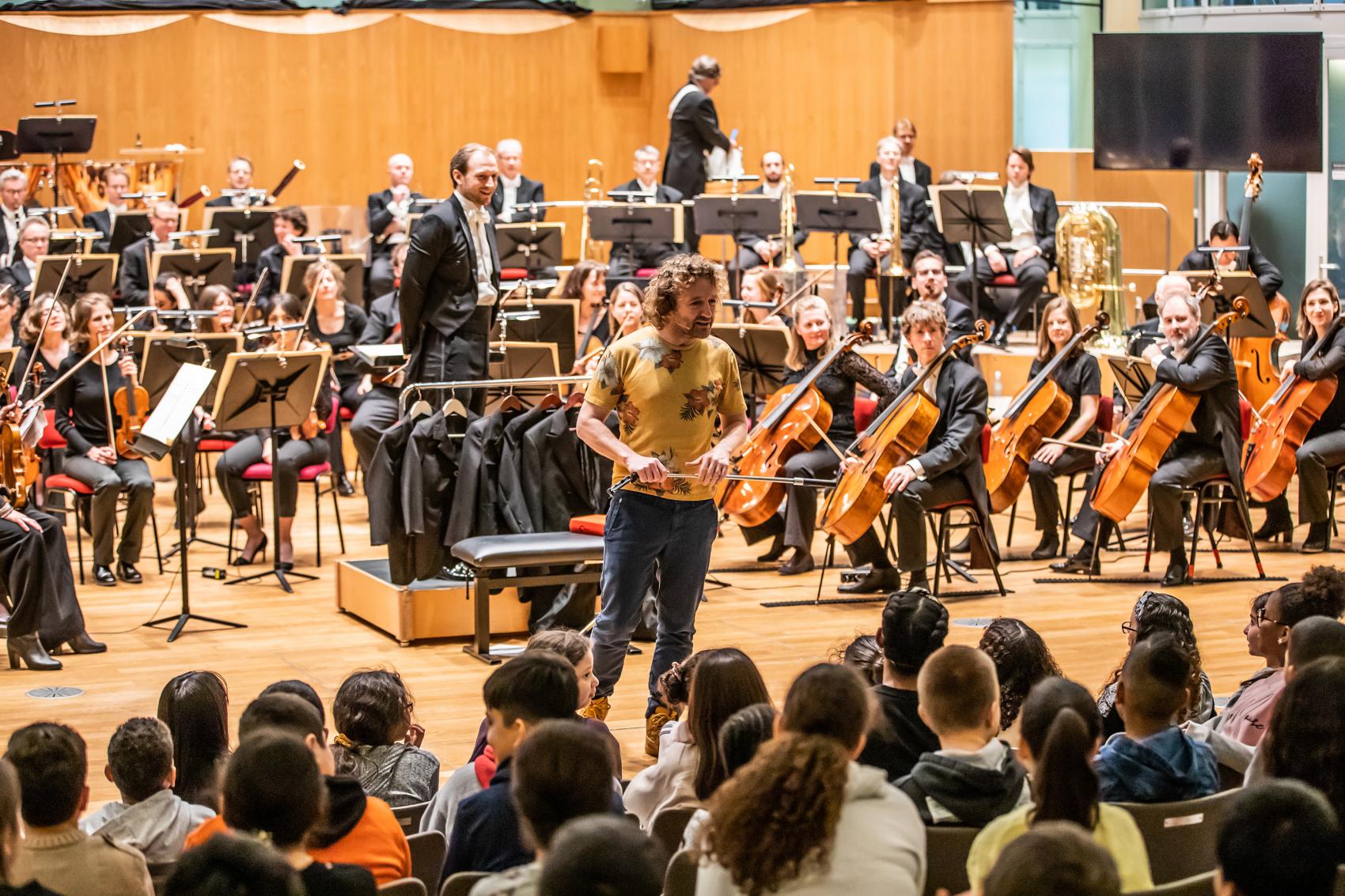 1300 kinderen bij Welkom bij het Orkest